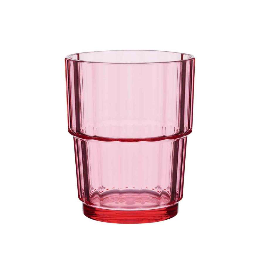 Norway Glas rose 180ml Kunststoff