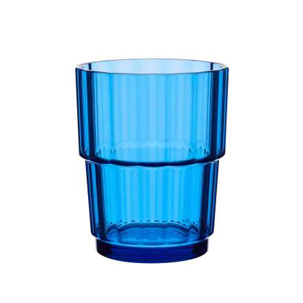 Norway Glas blau 180ml stapelbar
