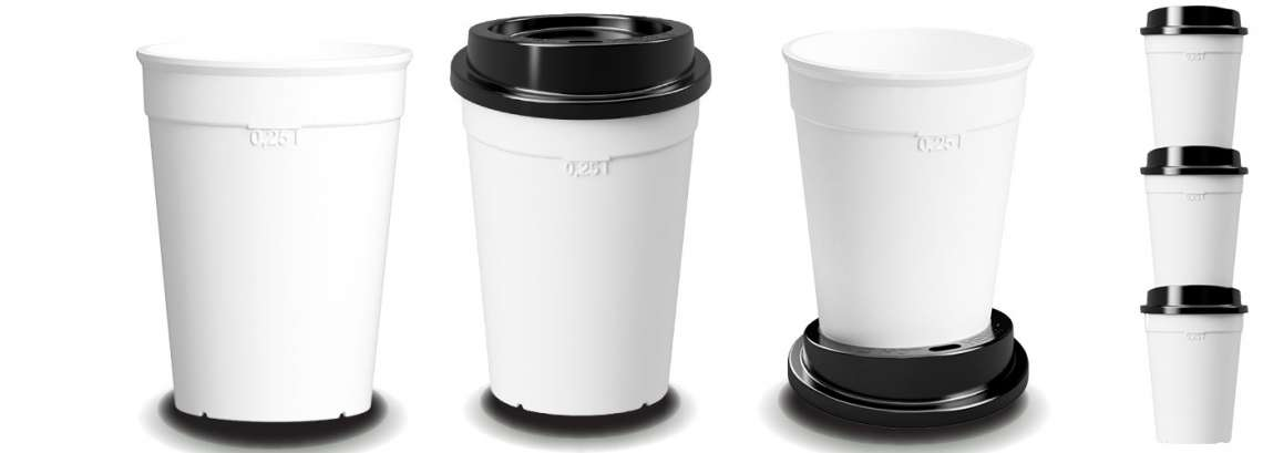 mehrwegbecher kunststoffgl ser oder coffee to go becher online kaufen. Black Bedroom Furniture Sets. Home Design Ideas